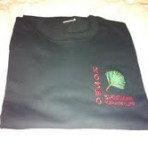 T-shirt with Embroidery (Black)